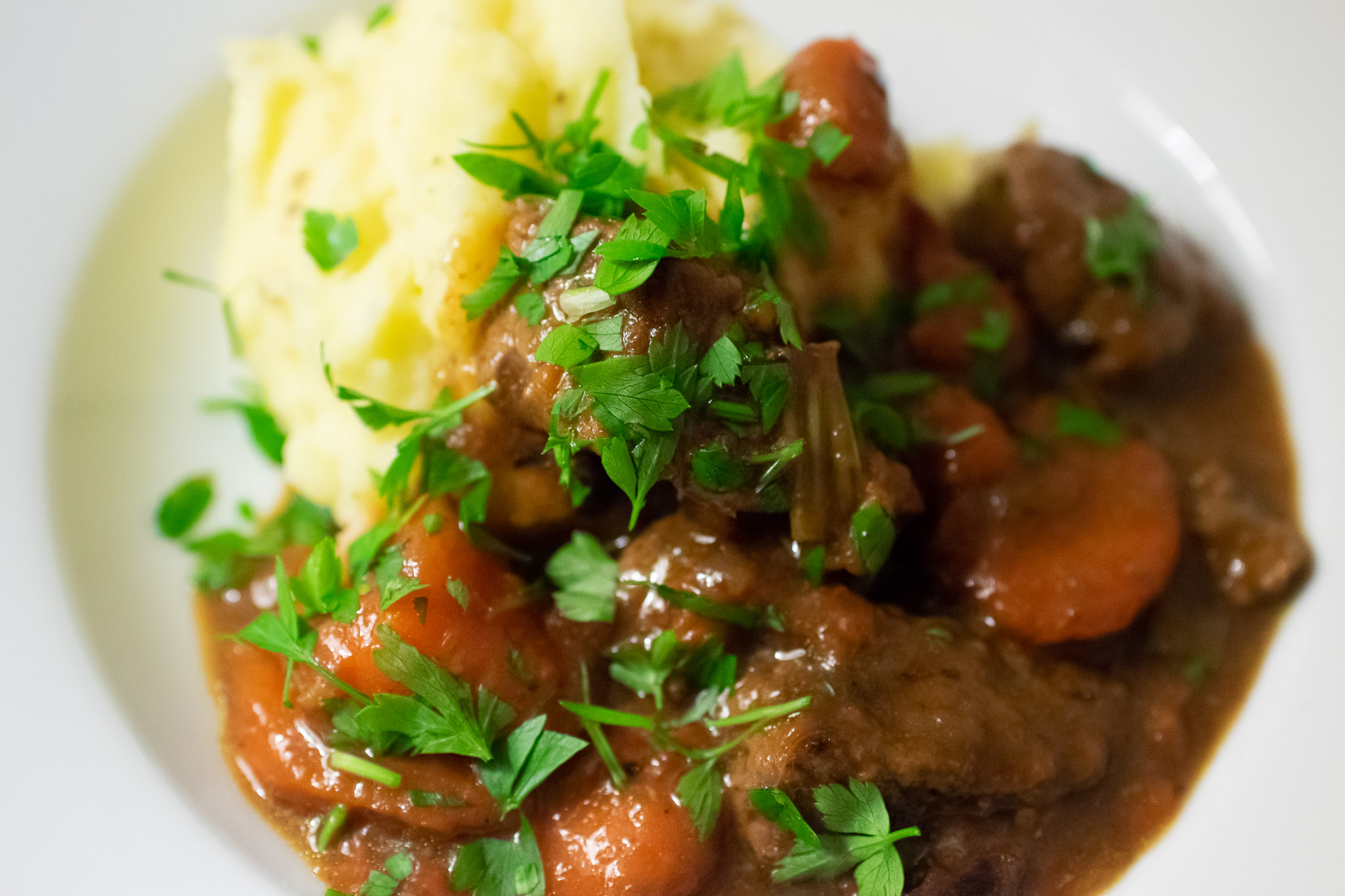 Beef Guinness Stew With Mashed Spuds Recipe Cow House Studios