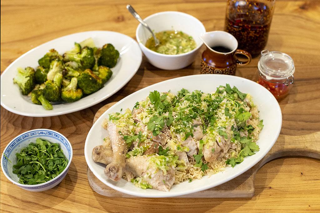 Hainanese Chicken Rice Recipe - Cow House Studios-5449